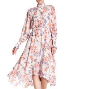 NANETTE Nanette Lepore spring bloom Hi-Lo Dress 10